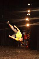 Marek Zych při své akrobatické exibici