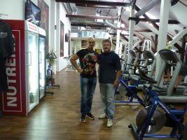Bohumil Divílek a Stanislav Pešát ve Fitness Pepa
