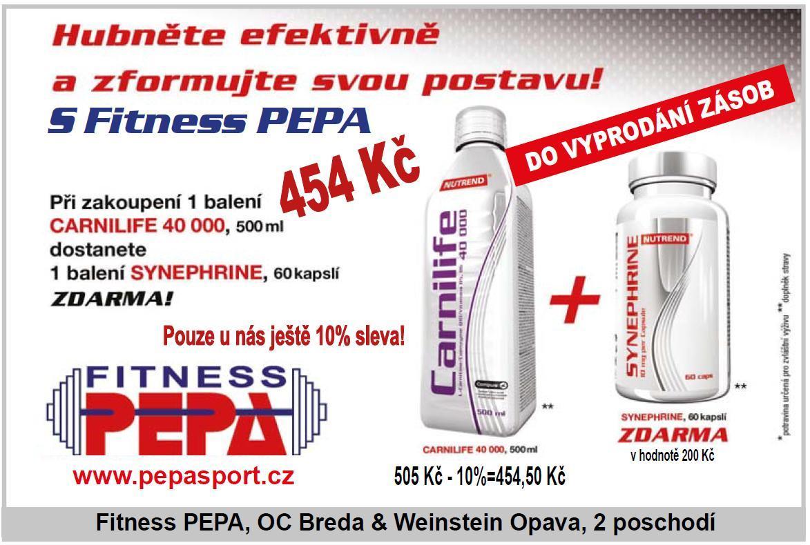 Akce Fitness PEPA červenec 2013