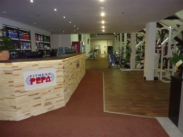 Nové Fitness PEPA vstup
