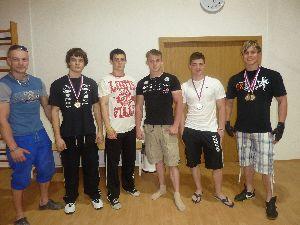 Předání medailí