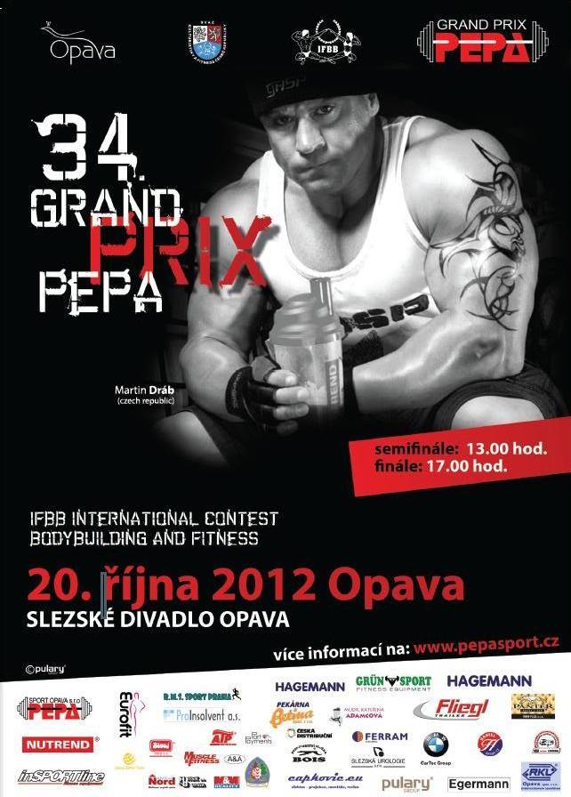 Plakát Grand Prix PEPA Opava 2012