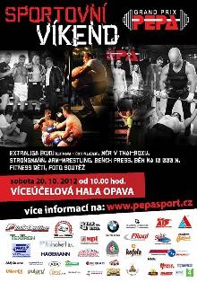 Plakát Sportovní víkend 2012