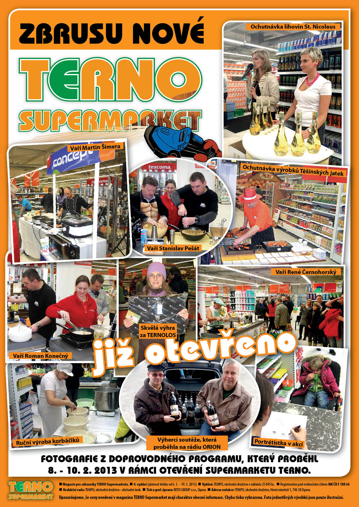 Zbrusu nový supermarket TERNO!